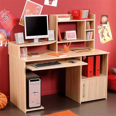 childrens desk and storage natural ash wooden computer desk with keyboard drawer and
