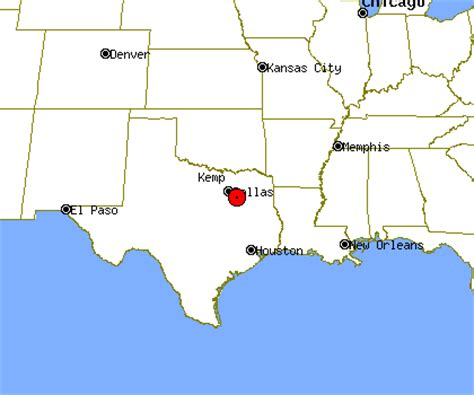 kemp texas map kemp profile kemp tx population crime map