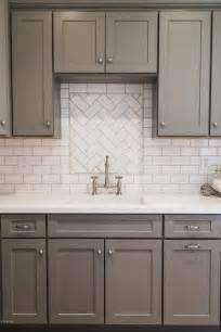 grey and white backsplash 1000 ideas about gray kitchen cabinets on gray kitchens grey kitchens and kitchen
