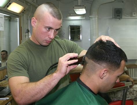 marine corps slang for hair grooming standards get lost or to go