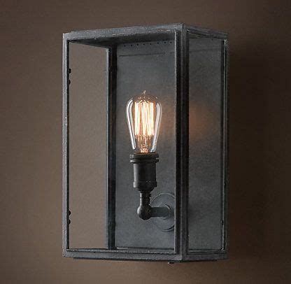 Outdoor Lighting Restoration Hardware Wall Restoration Hardware T Lighting Pinterest