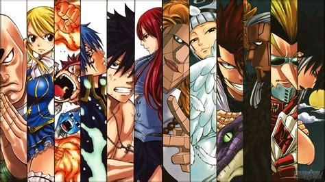 fairy tail anime fairy tail anime wizards 4y wallpaper hd