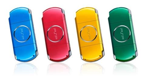 Psp Now Comes In Colours by Sony Adds New Carnival Colors To Playstation Portable