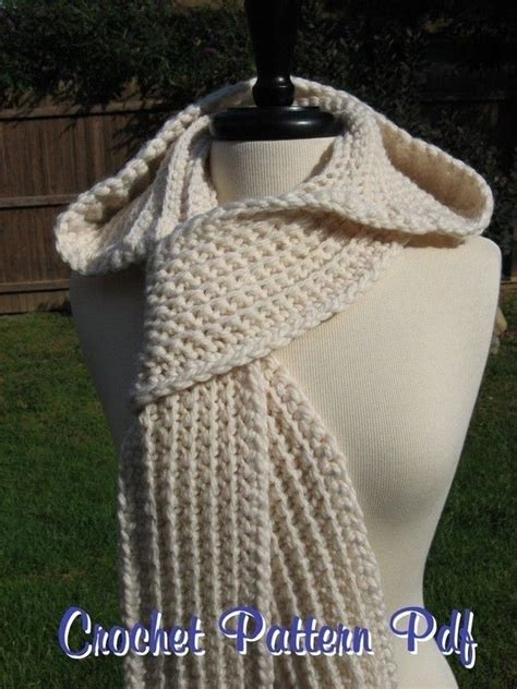 knitting pattern nordic scarf nordic hooded scarf crochet pattern pdf a well yarns