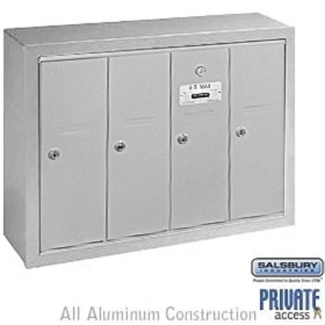 Commercial Mailboxes Apartment Salsbury Commercial Apartment Mailbox Surface Recessed Ebay