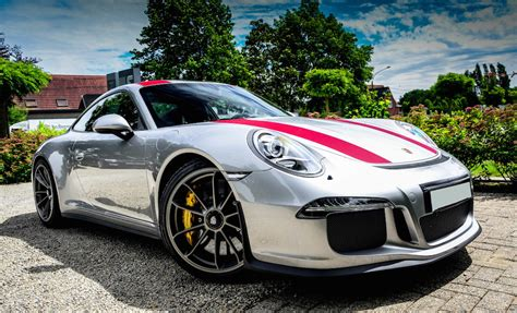 porsche silver silver porsche 911 r is just eye popping