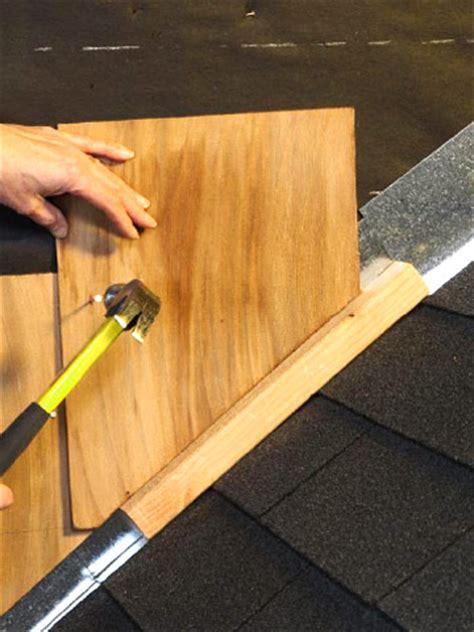 cutting cedar shingles to roof angle installing siding shingles better homes gardens