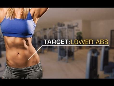 ab workout  women lose   abs pooch