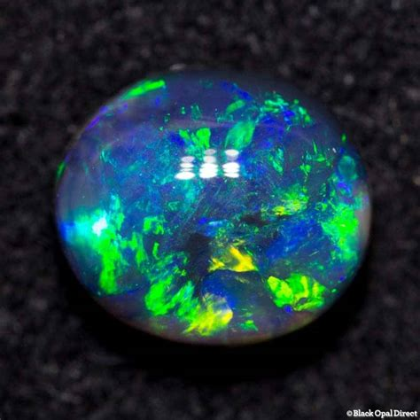 3 1 Ct Black Opal Hq 0 77 ct black opal 6x5x3mm black opal direct