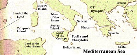 Land Of The Lotus Eaters Location Odyssey Map Thinglink