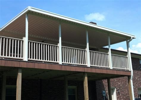 Permanent Awnings For Decks by Permanent Awnings For Decks Home Design Ideas