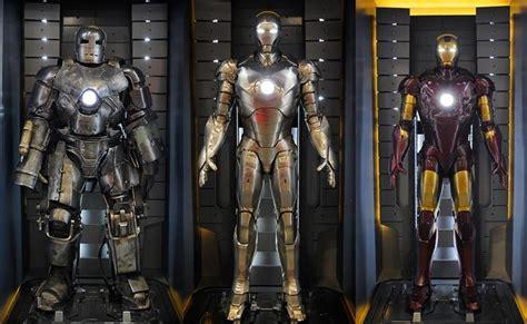 ten iron man armours years