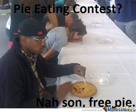Pie Contest Meme
