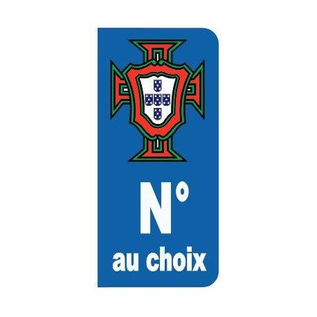 Auto Sticker Portugal by Sticker Plaque Immatriculation Coupe Portugal Etiquette