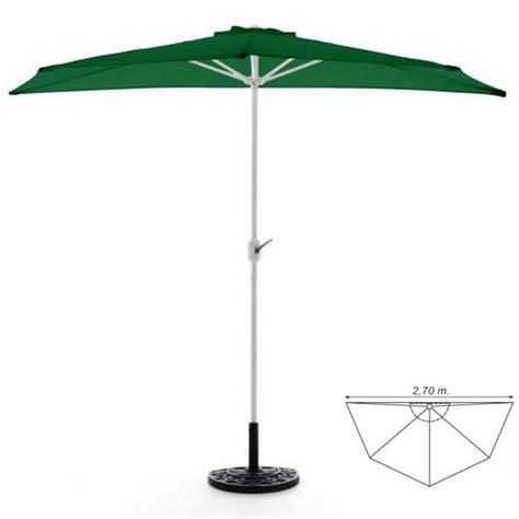 ombrellone terrazzo ombrellone da parete per balcone o terrazzo mezzaluna verde