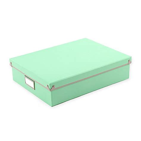 bed bath and beyond frisco frisco paper box in mint bed bath beyond