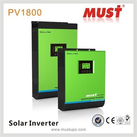 Inverter Must must hybrid power inverter 3kw hybrid solar inverter grid
