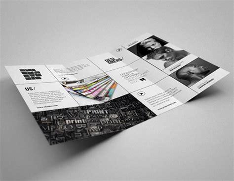 Design Studio Brochure by 20 Simple Yet Beautiful Brochure Design Inspiration