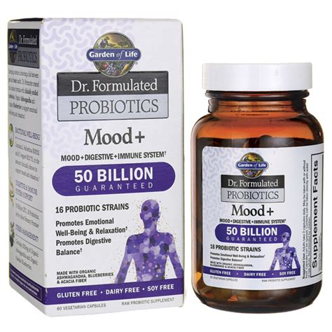 Garden Of Dr Formulated Probiotics Garden Of Dr Formulated Probiotics Mood 60 Veg Caps