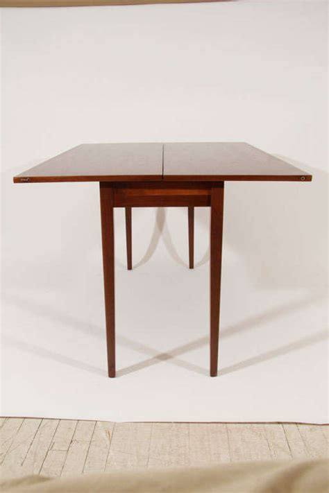 Convertible Dining Room Table by Jens Risom Convertible Dining Console Table At 1stdibs