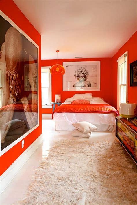 schlafzimmer orange schlafzimmer in orange einrichten und dekorieren