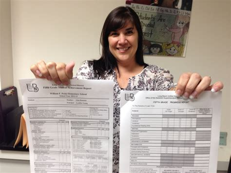 lausd report card template calif schools many districts are giving their report