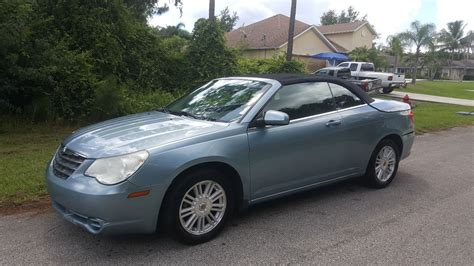Chrysler Sebring Convertibles For Sale by 2009 Chrysler Sebring Convertible For Sale