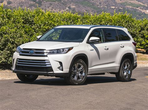 toyota highlander 2017 toyota highlander hybrid price photos reviews