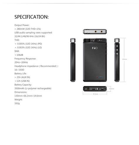 Fiio L19 fiio e18 kunlun portable usb dac lifier ebay