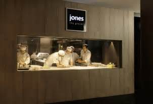 Small Restaurant Kitchen Layout Ideas jones the grocer flagship store restaurant by landini