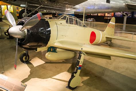 mitsubishi museum mitsubishi a6m2 zero gt national museum of the us air force