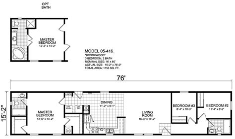 16 wide mobile home floor plans luxury single wide mobile
