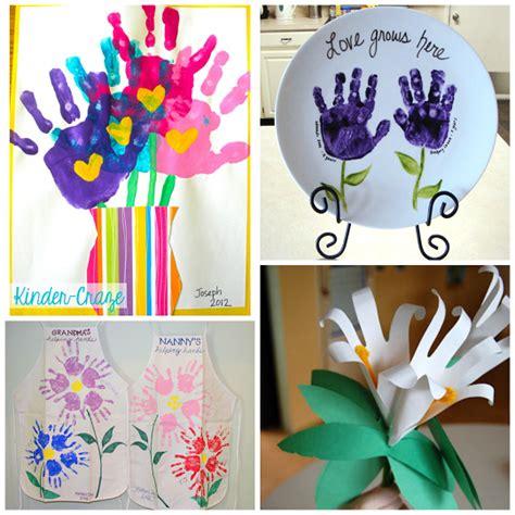 crafts using handprints handprint flower craft ideas for crafty morning