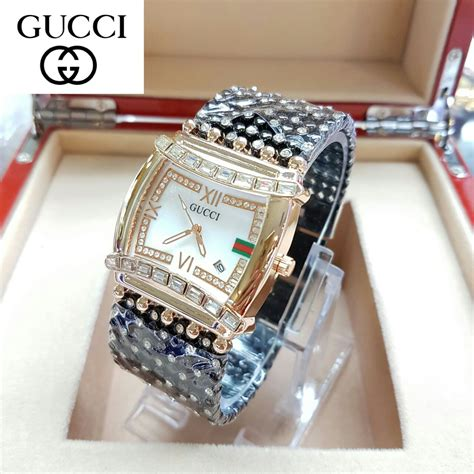 Harga Jam Tangan Merk Gucci Original jam tangan gucci merica v c67 delta jam tangan