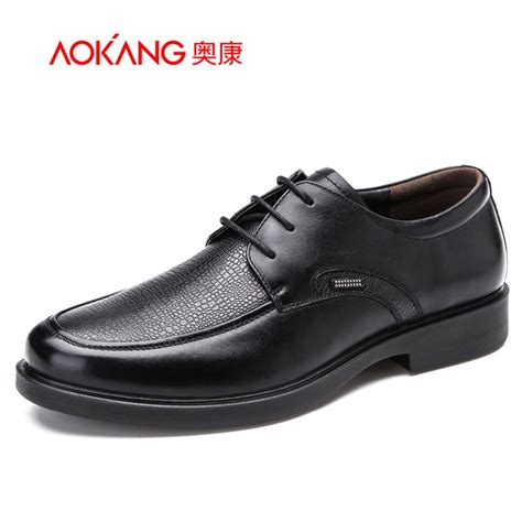 quality shoes aokang 2016 new arrival high quality dress shoes