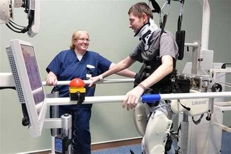 spinal cord injury survivor determined to walk again madonna rehabilitation hospitals