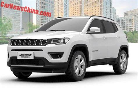 jeep made china made jeep compass to debut in november