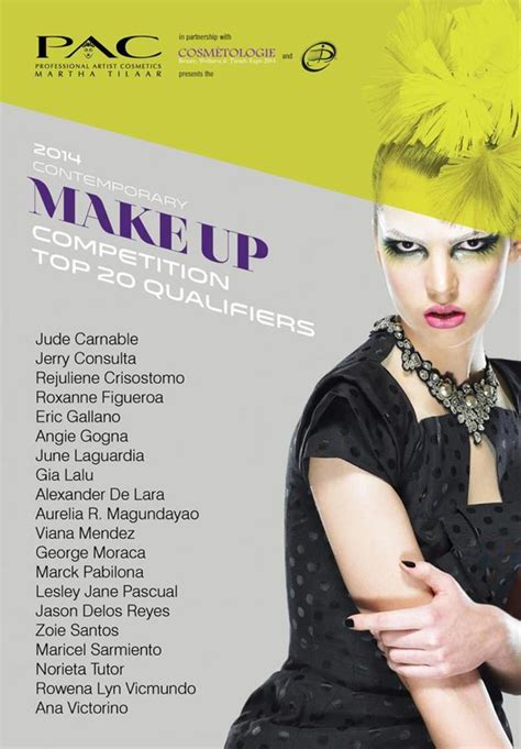 Makeup Pac pac cosmetics makeup competition 2014 zel she