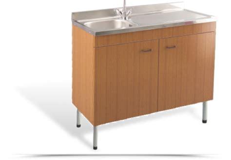 mobile lavello cucina acciaio lavello acciaio inox 1 vasca gocciolatoio destro con