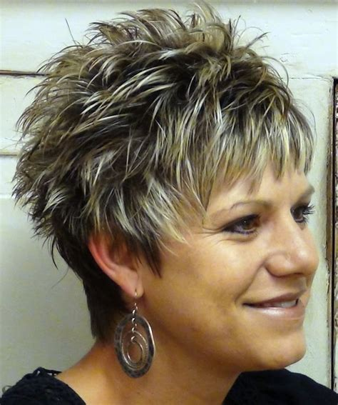 short grey hair for 40s women pinterest short spikey hairstyles for women over 40 hair styles