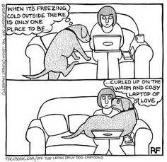 above the influence couch off the leash cartoons on pinterest dog cartoons dogs