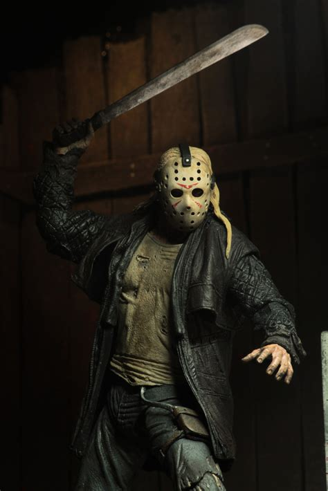 friday    scale action figure ultimate  jason necaonlinecom