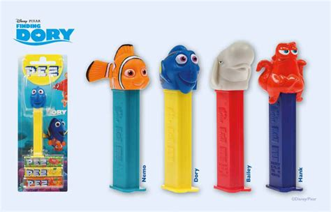 Finding Dory Pez pez palz friends of pez facelift for dory in 2016