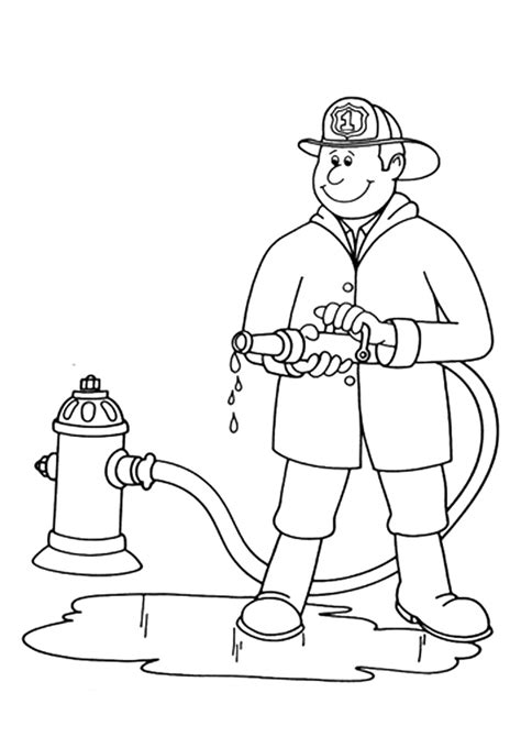 My Community Pages Coloring Pages Community Workers Coloring Pages