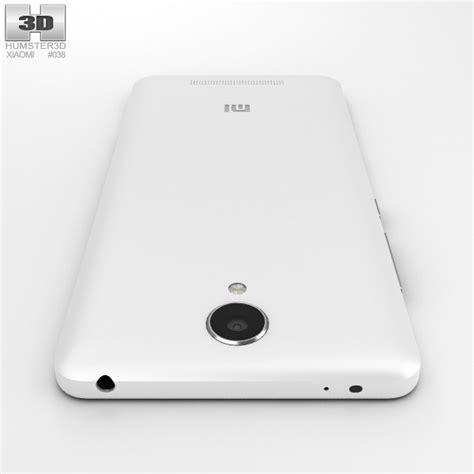 Xiaomi Redmi 2 White xiaomi redmi note 2 white 3d model hum3d