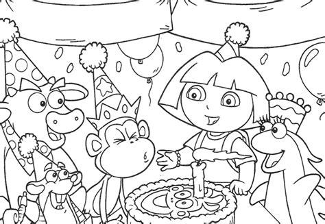happy birthday sofia coloring pages dibujos de dora para colorear y pintar 174 im 225 genes infantiles