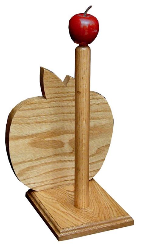 Stain Unfinished Kitchen Cabinets large oak paper towel holder from dutchcrafters amish