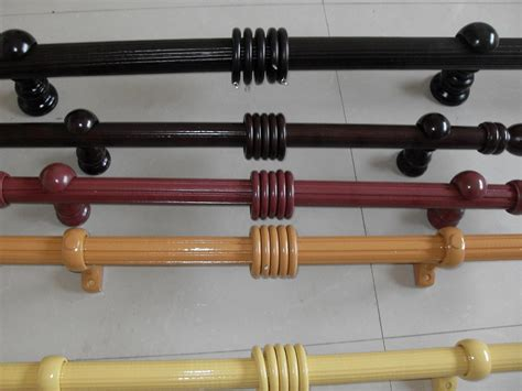 oak curtain rail wooden curtain rod in curtain poles tracks accessories