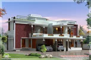 Custom Modern Home Plans 4500 Sq Modern Unique Villa Design House Design Plans