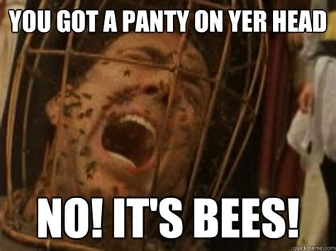 Panties Meme - you got a panty on yer head no it s bees nicolas cage